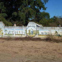 typisches Grab im Süden Madagaskars
