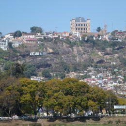 …das charakteristische Schloss der letzten Königinnen von Madagaskar.